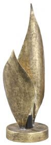 PTMD Tafellamp 'Silvan', IJzer, 39.5 x 12.5cm, kleur Goud